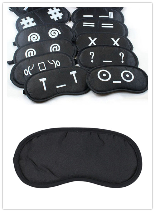 1 Stück Emotion Schlaf Maske Schwarz Auge Schatten Schlaf Maske Auf Augen Für Schlaf Lustige Schlafen Augen Maske Gelegentliche