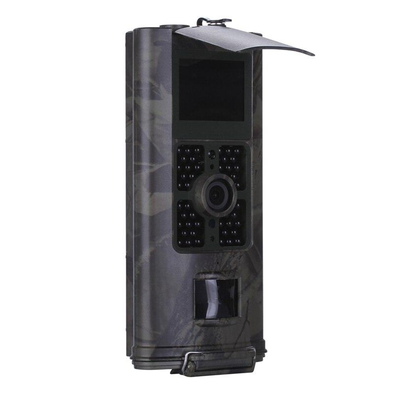 Caméra de chasse cellulaire 2G GSM MMS SMS SMTP caméra de piste Mobile 16MP Vision nocturne sans fil Surveillance de la faune HC700M - 3