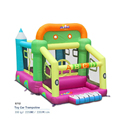 2017 new Car toy Bounce house inflatable trampoline jumping bouncy castle bouncer jumper with climbing indood playground for kid