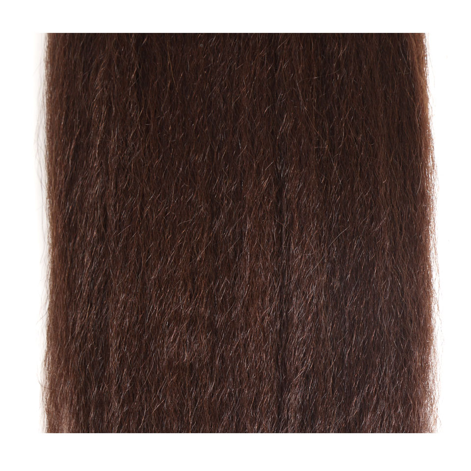 Hair Extensions & Wigs Human Hair Weaves Black Pearl Pre-colored Natural Wave Dark Brown Remy Human Hair 1 Bundle 4# Hair Weave Bundles 100g Hair Extensions