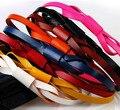 Multi colors Fashion women cowhide belt non ferrous first layer quality waist  tieclasps belt dress decoration belt