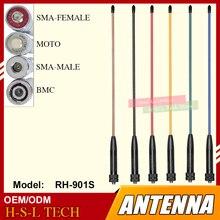 SMA-Female/SMA-Male/BNC Dual Band Antenna For Walkie Talkie Baofeng UV-5R UV-B6 UV-B5 UV-82 888S UV-8D TG-UV2 KG-UVD1P RH-901S