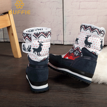 Women Winter Warm Antiskid Outsole Snow Boots
