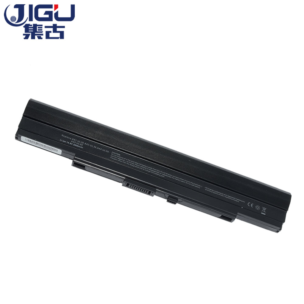JIGU Laptop Battery For Asus A31 UL30 A32 UL30 A32 UL80 A41 UL80  A32 UL5 A42 UL50 UL30 UL50Vg UL80A UL30A X4 U35J U35JC-in Laptop Batteries from Computer & Office