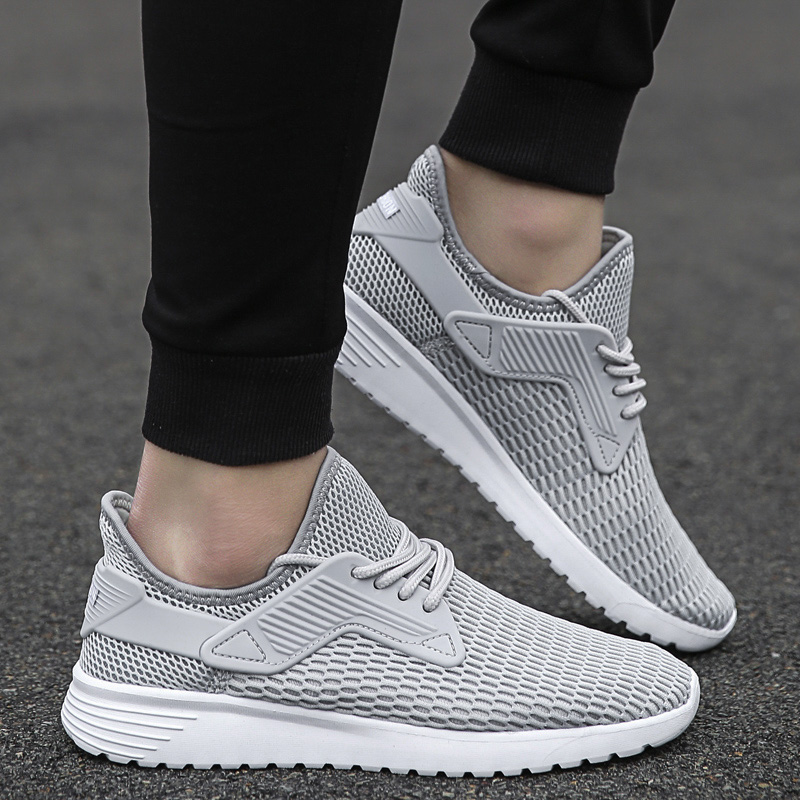 Shoes Man for Summer 2018 Breathable Mesh Lightweight Male Adult Vulcanized Fashion Sapato Masculino Comfortable