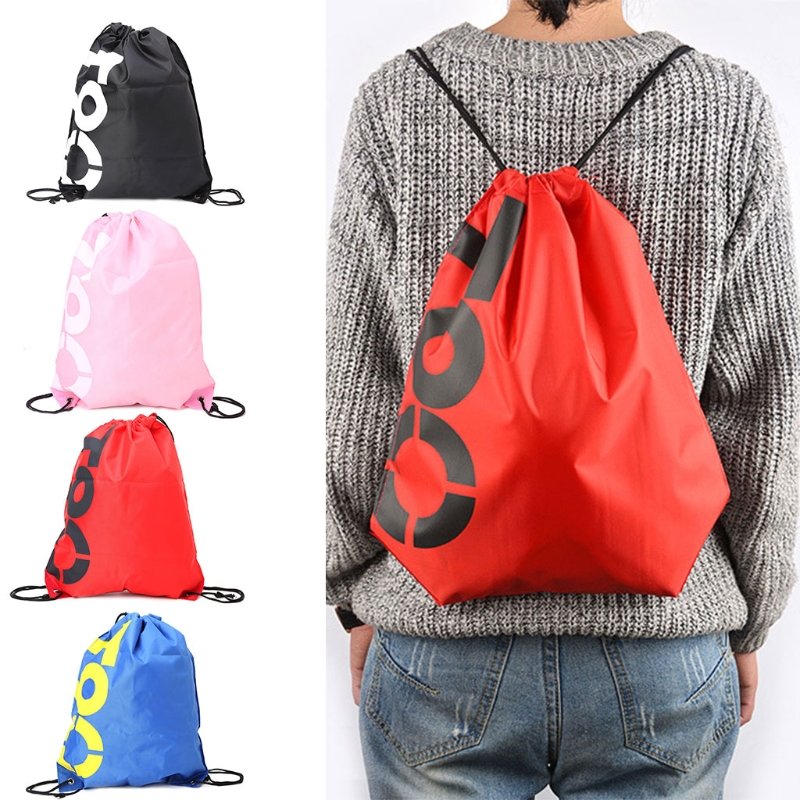 New Waterproof Travel fashion Backpack Shopping Drawstring BagsBeach Shoes Pack-15