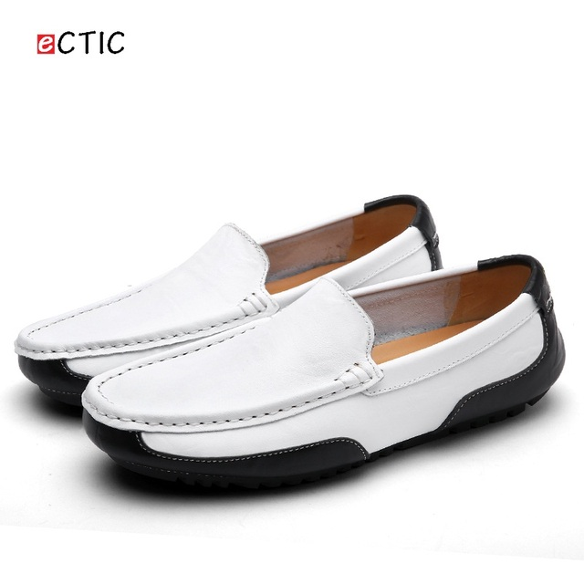 Pure Colore Soft Sole Casual Flat Sneakers Driving Slip On Flat Mocassini