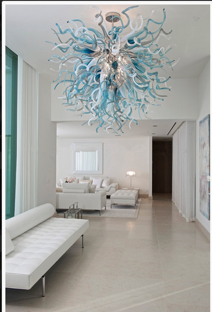 Современные подвесные светильники для гостиничной гостиной  модные декоративные светодиодные хрустальные люстры