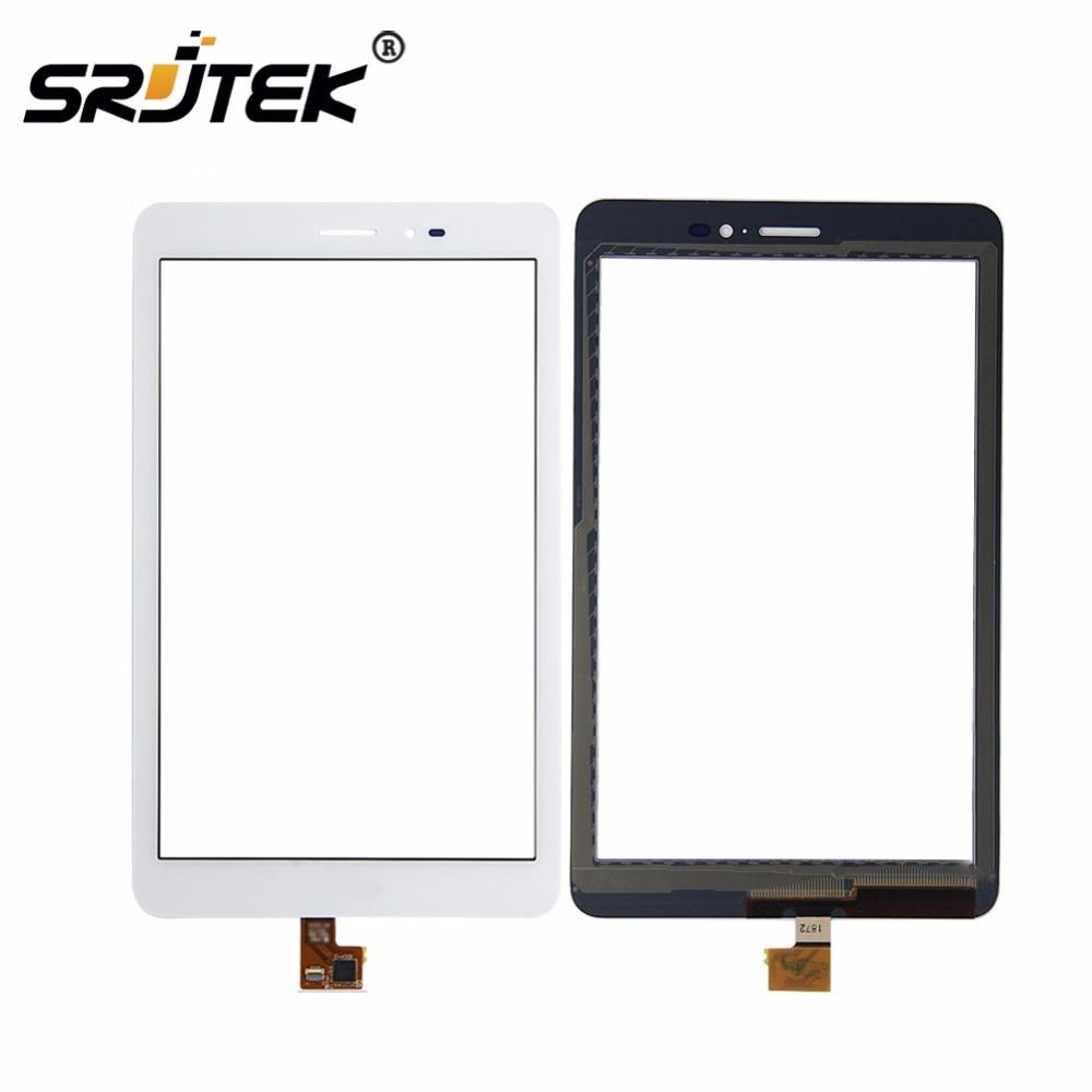 Für Huawei Mediapad T1 8,0 3G S8-701u/Honor Pad T1 S8-701 Weiß Touchscreen Digitizer Glaslinse Sensor ersatz