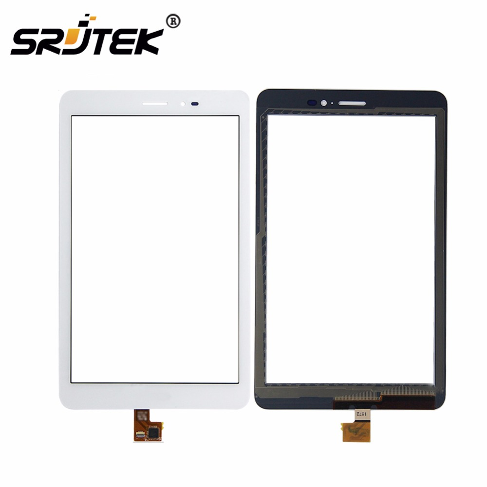 For Huawei Mediapad T1 8.0 3G S8-701u / Honor Pad T1 S8-701 White Touch Screen Panel Digitizer Glass Lens Sensor Replacement