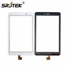 Para Huawei Mediapad 8.0 T1 3G S8-701u/Honor Pad T1 S8-701 Blanco Panel de la Pantalla Táctil de Cristal Digitalizador Lente Del Sensor reemplazo