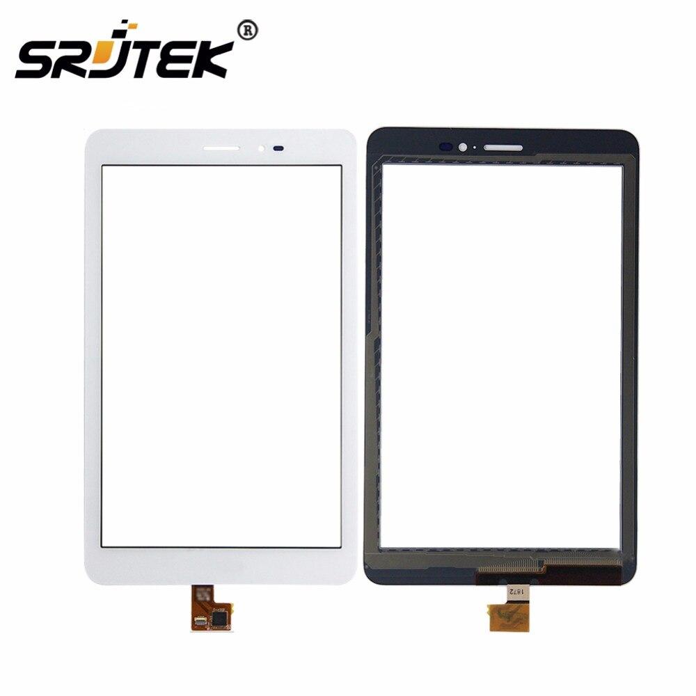Pour Huawei Mediapad T1 8.0 3G S8-701u/Honneur Pad T1 S8-701 Blanc Écran Tactile Numériseur Lentille En Verre Capteur remplacement