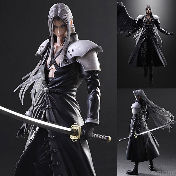 Paly Arts Kai Final Fantasy VII 7 Sephiroth PVC Action Figure Collectible Model Toy play arts kai street fighter iv 4 gouki akuma pvc action figure collectible model toy 24 cm kt3503