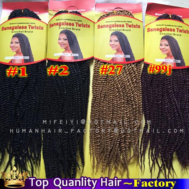 Pleasing Small Marley Senegalese Twist Hair Black Kanekalon Jumbo Braid Hairstyles For Women Draintrainus