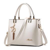 Bolso Mujer 2017 Fashion Hobos Women White Bag Ladies Brand Leather Handbags Spring Casual Tote Bag Big Shoulder Bags For Woman