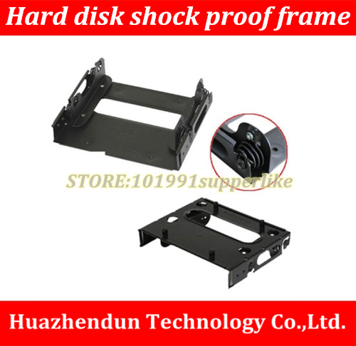 High Quality  1PCS  DIY  Computer Case  Accessories  shockproof hard disk bracket tray to installed in SSD screw hole position top sell high quality 2 5 inch to 3 5 inch hard disk driver bracket sata interface desktop case floppy disk driver tray