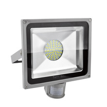 1Pcs Waterproof High Power 50w 4500LM 5630SMD Led Lamp Floodlight Led Sensor Flood Light Garden Outdoor Lighting 85V-265V