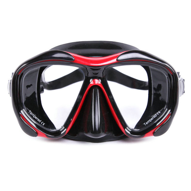 2017 hot sale  Brand high quality scuba myopia and hyperopia lens diving mask goggles MK-2600 glasses