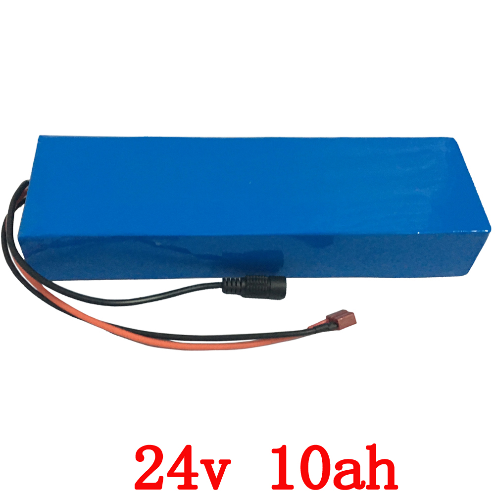 24v 10ah lithium electric bike battery 24v 10ah battery pack li-ion for bicycle 24v 350w e bike 250w motor with 15A BMS +Charger free customs taxes and shipping li ion ebike battery pack 24v 8ah 350w electric bike kit battery hailong e bike with charger