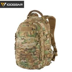 IDOGEAR Dragon Bag Training Backpack Military Travelling Multi-purpose action Molle hiking Laser cutting BG3501 Multicam black