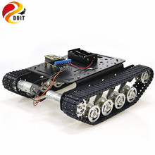 ESP8266 RC Smart Robot Tank Chassis with Dual DC Motor+ Nodemcu Development Board+L293D Motor Driver Board for DIY Project TS100