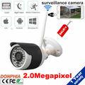 Wi-fi Ip-камера 2.0MP 1080 P Разрешение 3.6 мм/6 мм Фиксированный Объектив Сетевая Камера для ВИДЕОНАБЛЮДЕНИЯ Системы Безопасности, наблюдения 1080 P Беспроводной