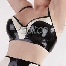 latex sexy underwear bra