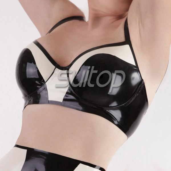 Latex Sexy Underwear Bra