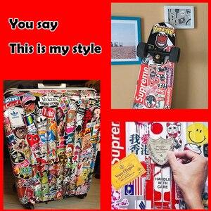 Image 5 - 32PCS Cartoon Animal Stickers Kids Toy Sticker For DIY Luggage Laptop Skateboard Motorcycle Bike Bedroom Sticker
