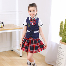 New childrenschorus performance student uniforms childrens dance clothes boys and girls poetry recitation clothing