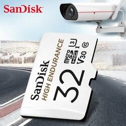 Tarjeta de memoria SanDisk, monitorización de vídeo de alta resistencia, tarjeta MicroSD de 32GB 64GB SDHC/SDXC Class10, tarjeta TF de 40 MB/S para monitoreo de Video