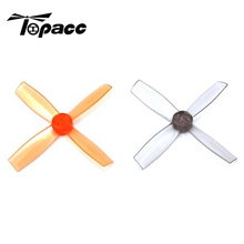 New Arrival 2 Pairs HB2535 2535 2.5*3.5*4 DIY 4 Blade PC FPV Racing Propeller CW CCW Props For RC Multicopter Drone