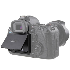 Image 2 - 2in1 LCD Screen Protector Pop up Sun Shade Hood Cover for Canon 5D MARK III IV