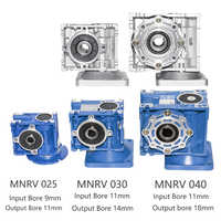 NMRV 025 030 040 Gearbox Reducer Ratio 1/5/7.5/10/15/20/25/30/40/50/60/80/100 High Quality Electric Motor Gearbox High Torque