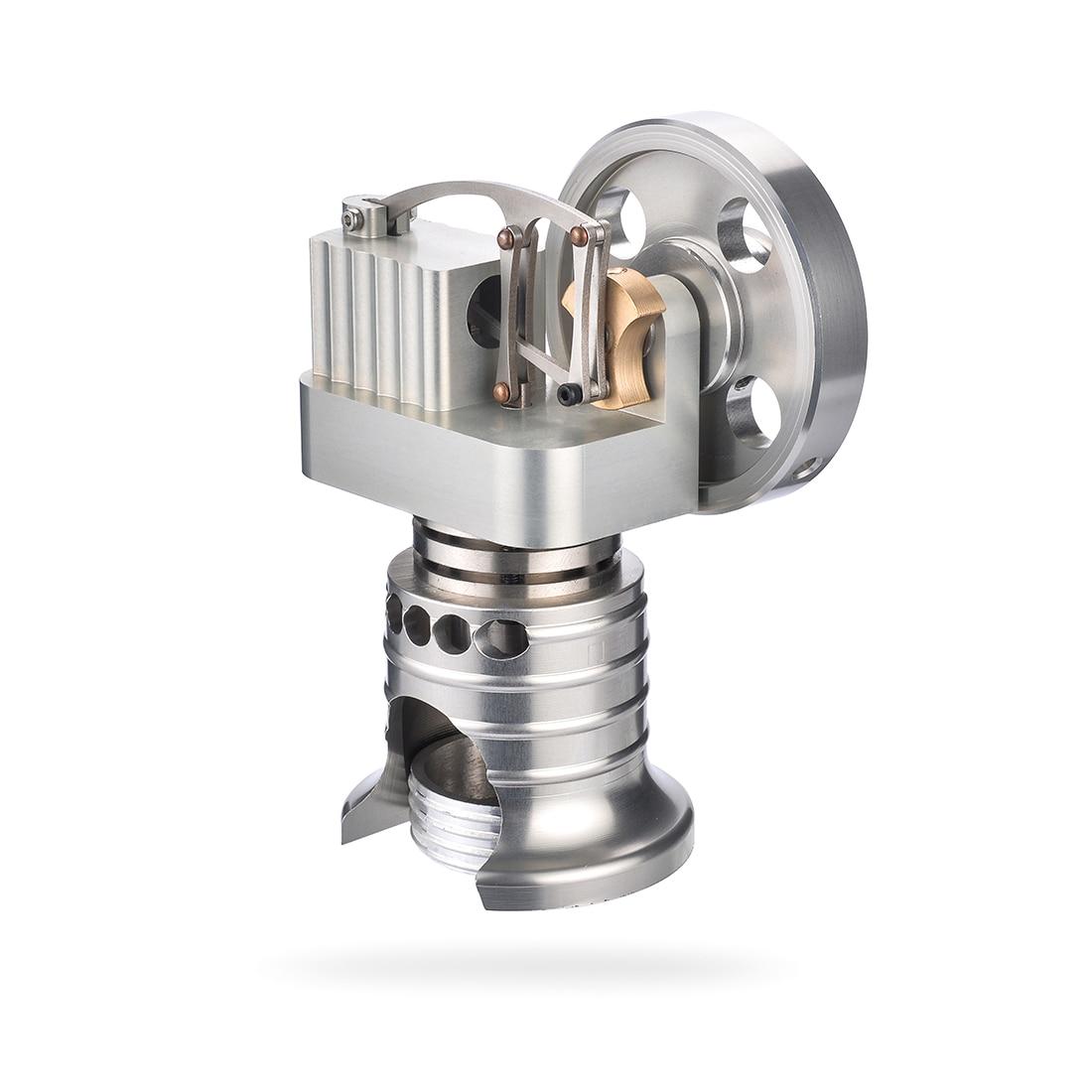 NFSTRIKE Model Building Kits Vertical Type Metal Stirling Engine Motor with Alcohol Burner Kids Early Development