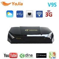 Vontar DVB-S2 HD V9S спутниковый ресивер Поддержка USB Порты и разъёмы веб-ТВ WiFi построить в Поддержка iphd xtream Сталкер IP ТВ youtube Youporn