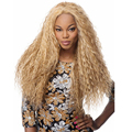 Long Blonde Wigs for Black Women Afro Kinky Curly Wig For Women Heat Resistant Synthetic Wigs Fake False Hair Wigs Look Real