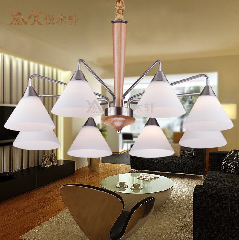 cheap chinese new simple wood ceiling living room chandelier bedroom rustic restaurant cheap bedroom lighting