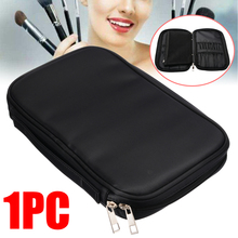 цены Professional Makeup Brush Bag Organizer Pouch Pocket Holder Kit Practical Cosmetic Tool Case