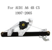 Электрический стеклоподъемник для AUDI A6 4B C5 1997-2005, сменный задний правый стеклоподъемник 4B0839462