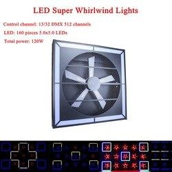 ニューミュージック DJ ライト機器高速ミュート 120 ワット LED スーパー旋風ステージランププロフェッショナルディスコパーティー KTV ステージストロボライト