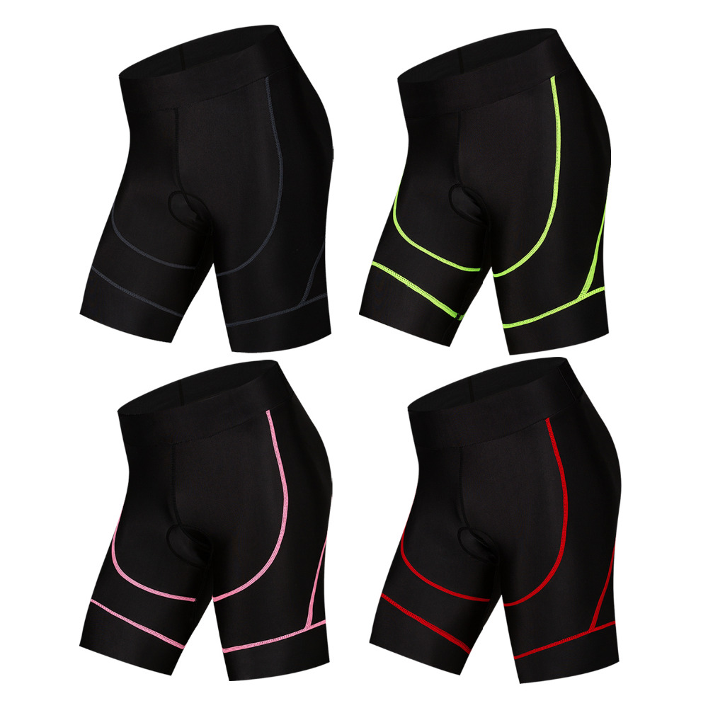 Cycling Padded Shorts Men Women Coolmax 4D Padded Shorts Shockproof MTB Road Bike Pro Shorts Reflective Ciclismo