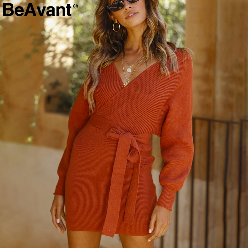 7676edd530a ... Popular Stretch Sexy Ladder Cut-Out Metallic Sequins Dress Beach Wear  Vestidos.   22.56. Add to my products  BeAvant V neck loose knitted dress  women ...