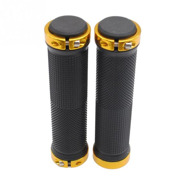 1 pair High quality Bike Bicycle Handlebar Cover Grips Smooth Soft Rubber Handlebar handlebar cover handle bar end 4