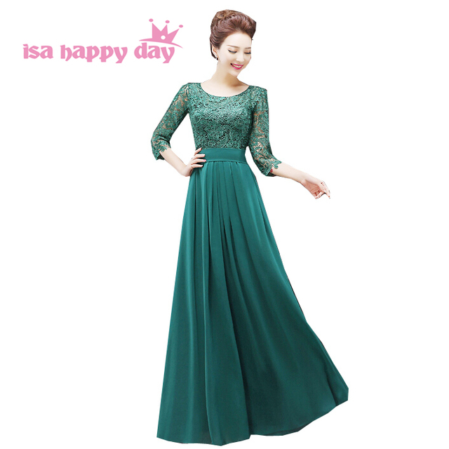 Vestidos verdes para boda noche