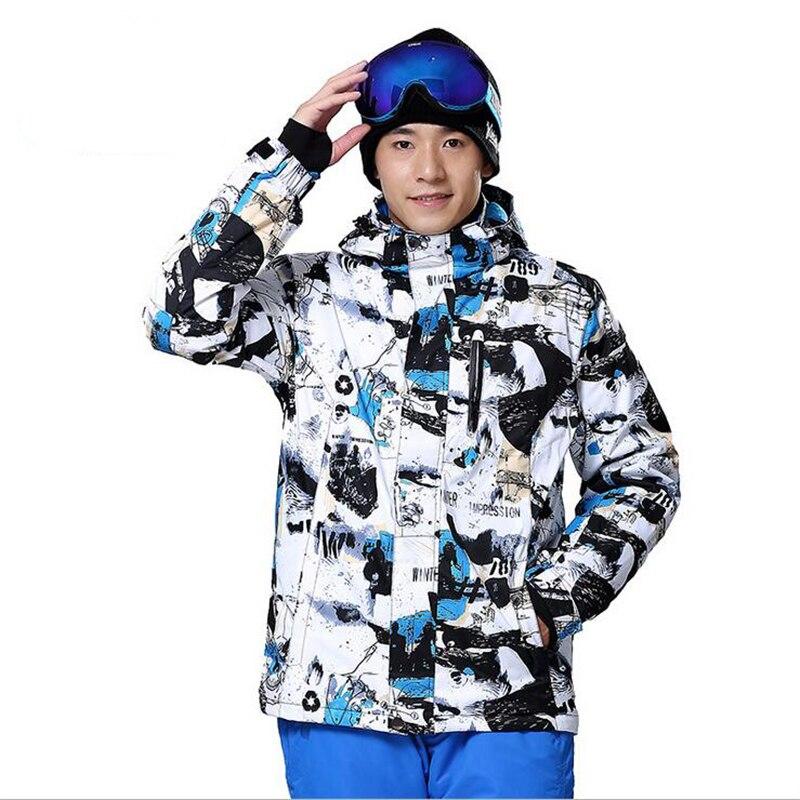 2017 combinaison de Ski snowboard hiver Mount escalade costume sauvage piéton haute résistance hommes doudoune
