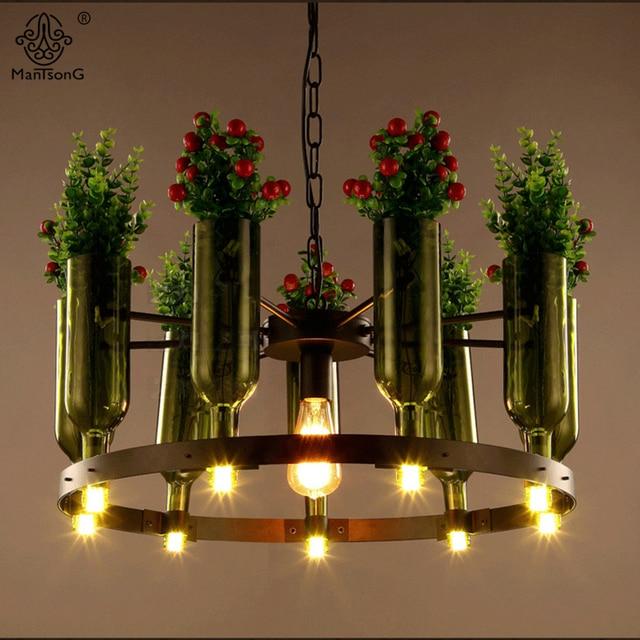 Plantas colgante colgante l mparas de iluminaci n de - Luces para plantas de interior ...