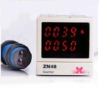 ZN48 DIY Cumulative Counter Board Type Electronic Digital Simple Industrial Cumulative Parking Lot 0.7m