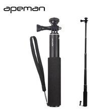 apeman Selfie Stick Waterproof Monopod Tripod Handheld Stand for Action Camera gopro hero 5 4 3  sjcam 4000 xiaomi yi 4K eken H9
