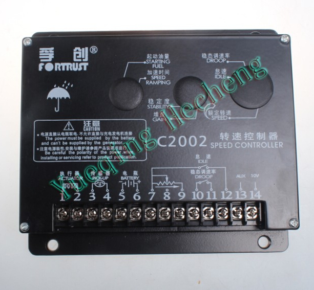 Generator accessories Fortrst speed controller C2002 governor speed control board